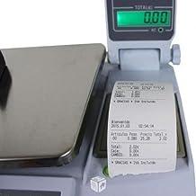 balanza bascula con impresora de ticket programable