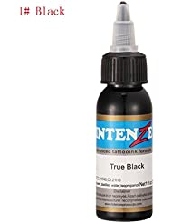 Encre Tatouage 30 ml Ularma Professionnel Tatouage Encre 14 Couleurs Réglées 1 30 ml/bottle Kit Pigment Tattoo (A)