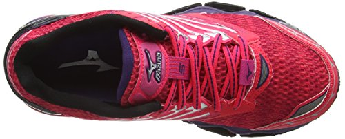 Mizuno Wave Prophecy 5, Chaussures de Running Compétition Femme Pink (Diva Pink/Mulberry Purple/Black)
