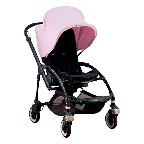 JANABEBE Verdeck für Bugaboo Bee 3 rosa (Pink Sparkles)