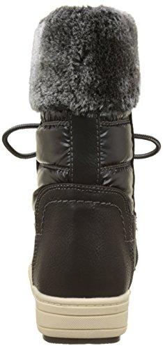 Tom Tailor 3794704, Stivali da Neve Donna nero (nero)