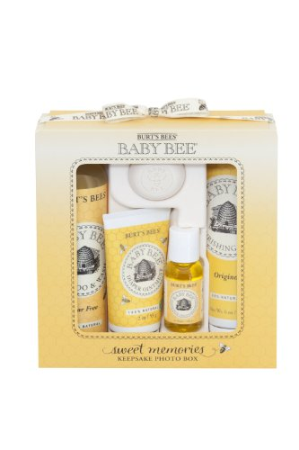 burts-bees-baby-bee-sweet-memories-gift-set-with-keepsake-photo-box