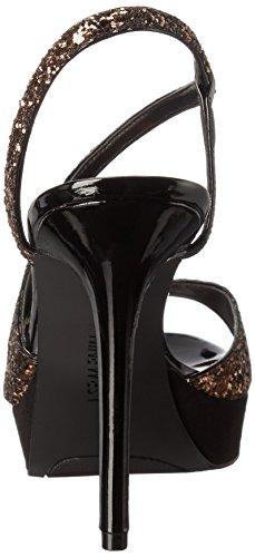 Nine West Sincity Synthetic Kleid Pump Bronze/Black