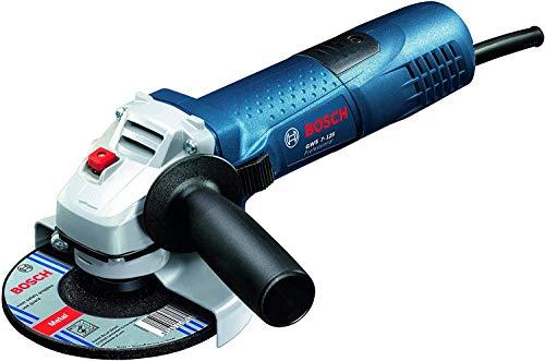 Bosch Professional GWS 7-125 - Amoladora angular 720W, 11000 rpm, Ø Disco 125 mm, en caja