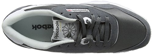 Reebok Classic R13, Sneakers Basses Homme Gris (Alloy/White)