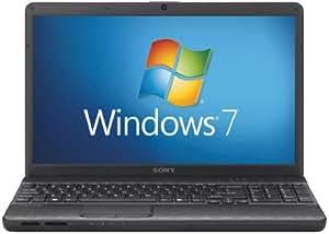 "Sony VPCEH1S8E Ordinateur Portable 15.5 "" Intel Intel HD Graphics 3000 Windows 7 Home Premium Noir"