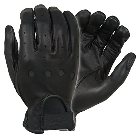 Damascus D22 Leather Driving Gloves Full-Finger Unlined, Large by Damascus Protective Gear