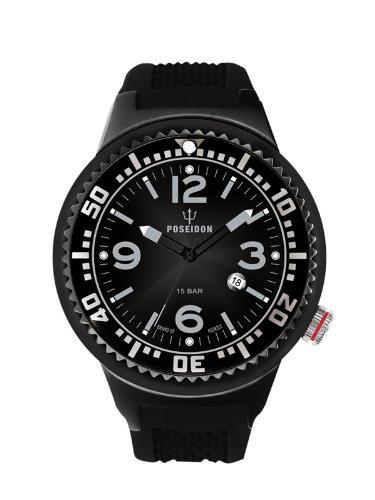Kienzle Herren-Armbanduhr POSEIDON L Analog Quarz Silikon K2093043103-00406