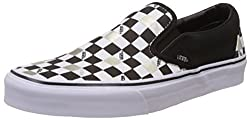 Vans Unisex 50Th -Black, Gold and Checker Loafers and Mocassins - [8 UK (42 EU) (10.5 US) M/8 UK (42 EU) (9 US) W]