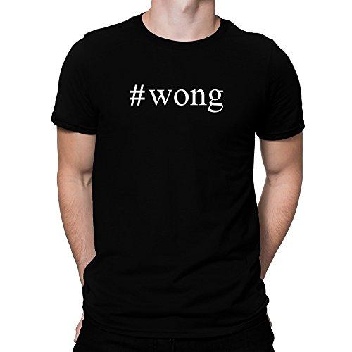 Teeburon Wong Hashtag Camiseta