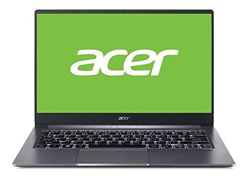 Acer Swift 3 - Ordenador portátil de 14' FullHD (Intel Core i5-1035G1, 8GB RAM, 256GB SSD, UMA, Windows 10 Home) Gris - Teclado QWERTY Español