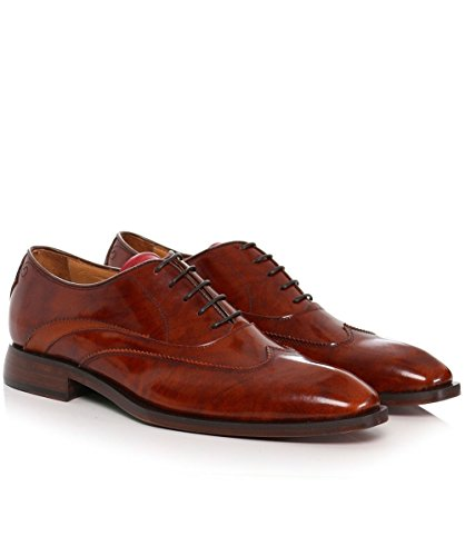 Oliver Sweeney Hommes chaussures de cuir High shine alassio oxford Tan Tan