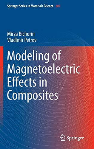 Modeling of Magnetoelectric Effects in Composites (Springer Series in Materials Science, Band 201)