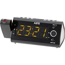 AEG MRC 4121 - Radio (Despertador, proyector, indicador temperatura, fecha y día de la semana),