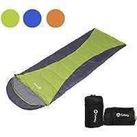 Sekey (190 + 30 x75 cm Impermeable Saco de Dormir Modular | Camping Saco de