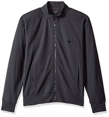 Emporio Armani Sweater Jacke Sweatjacke 111570 7A569 08444 FUMO HW17-EAS1 Size M