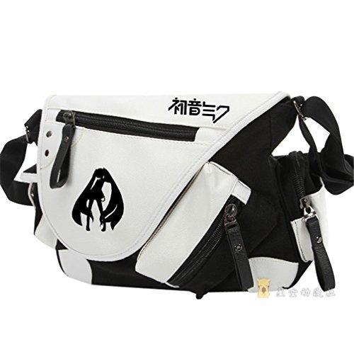 Yoyoshome giapponese anime Cosplay zaino Zaino messenger bag borsa a tracolla (26stili), Naruto Hatsune Miku