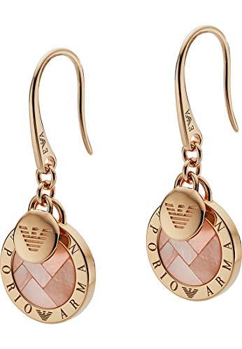 Emporio Armani Ohrringe EG3376221 Damen Ohrringe Sterling-Silber 925 Rose Orange