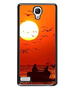 PrintVisa Designer Back Case Cover for Xiaomi Redmi Note :: Xiaomi Redmi Note 4G :: Xiaomi Redmi Note Prime (Sea water ships boats flags)