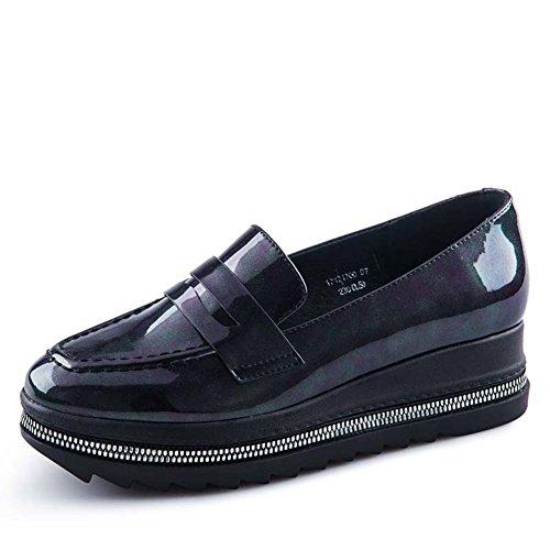 Chaussures D'automne / Fin De Chaussures De Plate-forme / Chaussures De Femme Deep Mouth A