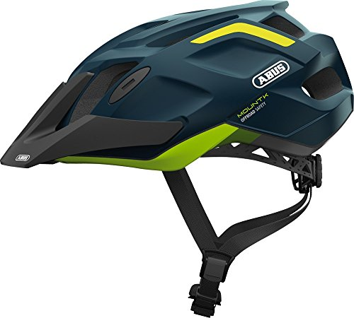 Abus 78181-0 Casco Bicicleta, Unisex Adulto, Azul (Midnight Blue), M