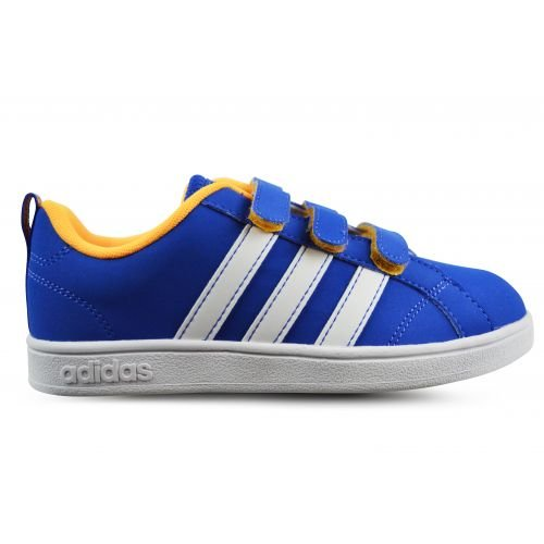 adidas Unisex Baby Advantage Vs CMF C Turnschuhe, Azul/Blanco/Amarillo (Azul/Ftwbla/Dorsol), 32 EU (Wanderschuhe Vs Schuhe)
