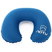 Travel Pillow, ICOCO Super Soft Inflatable Neck Support Travel Pillow (Camping, Travelling, Car)