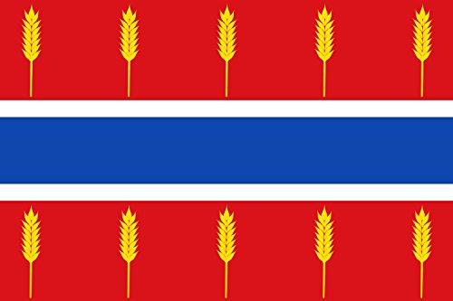 magFlags Bandera Large Rectangular de Proporciones 2 3, formada por Tres Franjas horizontales Iguales | Bandera Paisaje | 1.35m² | 90x150cm