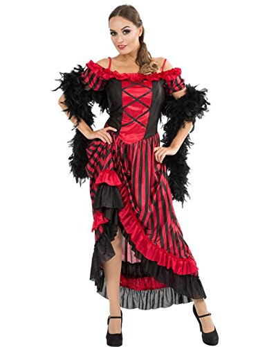 Costume da Ragazza Can-Can Large