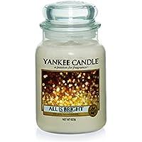 YANKEE CANDLE 1513533E Candela Profumata Giara all Is Bright Profumatore Dambiente, Multicolore, Grande Vaso