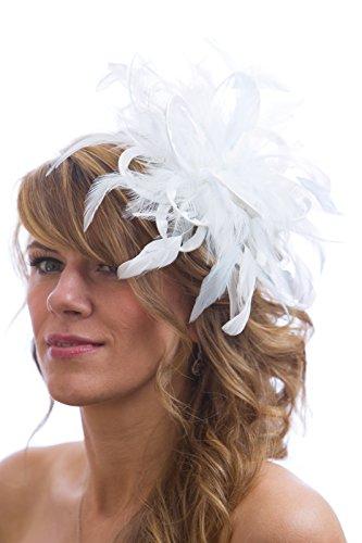 Maighread Stuart Millinery - Bandeau - Femme Blanc - Blanc