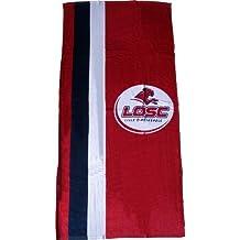 Drap serviette de plage sport LOSC - Collection Officielle LILLE Olympique Métropole