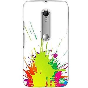 Designer Motorola Moto G3 Case Cover Nutcase -Color Splash