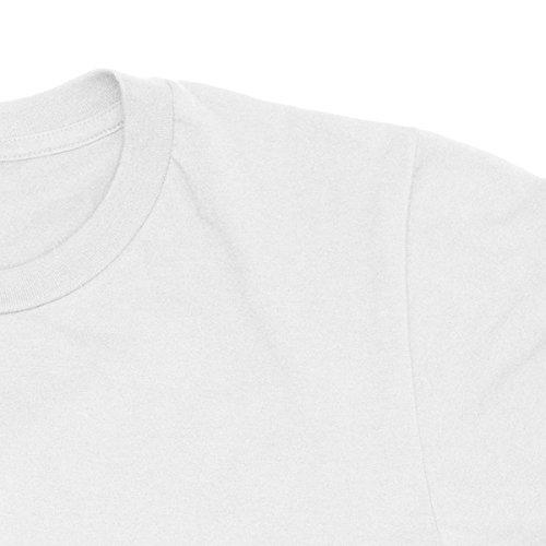 Herren-T-shirt 8-bit generation - 100% bauwolle LaMAGLIERIA Weiß