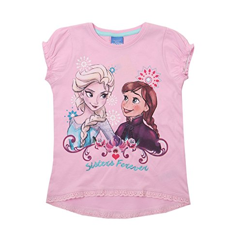 Disney frozen-forever-kids t-pink, giacca bambina, rosa (pink), 7-8 anni