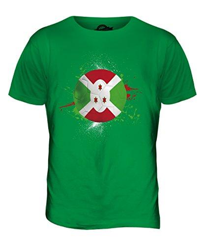 CandyMix Burundi Fußball Herren T Shirt Grün
