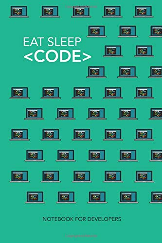 Developer Notebook Coding Gift: 120-Page Present Journal for Coders (9x6?): programmer, coding lined notebook for coders, web developers ui creators