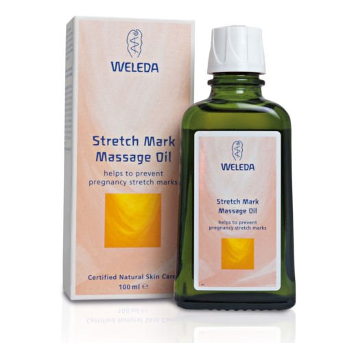 Weleda, Huile de massage contre les vergetures, 100 ml
