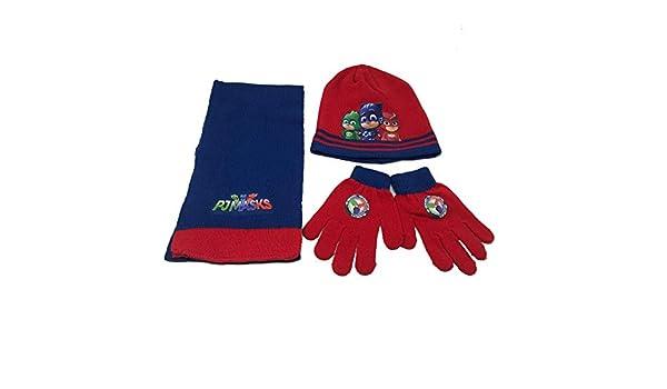 STAMION PJ Mask Set Cappello Sciarpa e Guanti