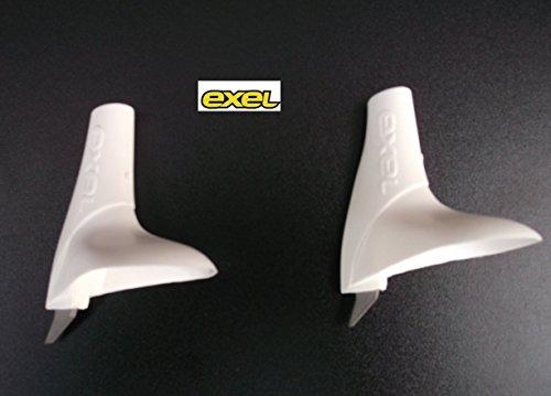 Exel Langlaufteller Exelerator Basket weiss, 7 mm Neu