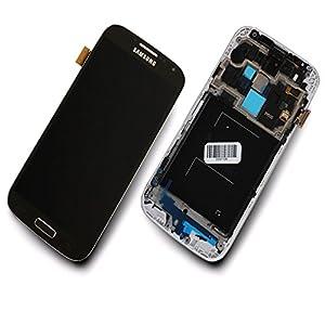 Samsung Galaxy S4 i9505 Display Touchscreen Rahmen Schwarz DEEP BLACK Original NEU GH97-14655L