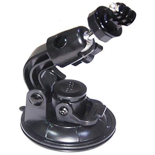 Conecte su cámara a superficies lisas con nuestra gran ventosa. El diámetro de base: 9cm da una pieza extra de la mente cuando se, es perfecta para parabrisas o carrocería. Fácil de usar: simplemente coloque el soporte en la superficie y tire de la ...