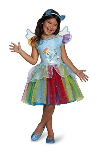 h Tutu Deluxe My Little Pony Costume, X-Small/3T-4T by Disguise (Rainbow Dash Tutu)
