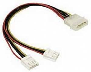 strom kabelverteiler y adapter kabel 4 polig molex zum. Black Bedroom Furniture Sets. Home Design Ideas