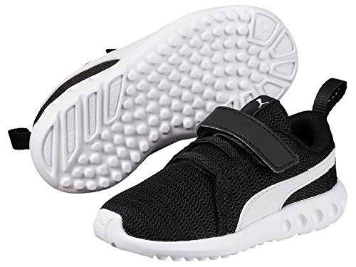 arson 2 V Inf Sneaker,Schwarz (Puma Black-Puma White) , 27 EU ()
