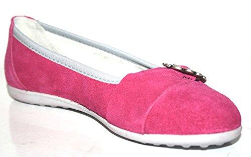 Richter Kinderschuhe 72.3013.4760, Ballerines fille Rose - Pink (fuchsia 4370)