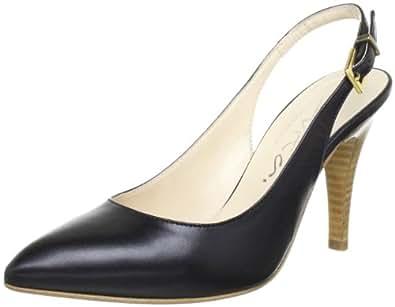 Evita Shoes Sling 41871X3110, Damen Pumps, Schwarz (schwarz), EU 37
