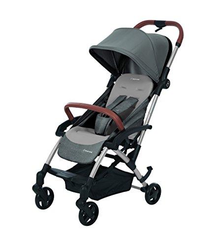 Maxi-Cosi Laika kompakter Kombi-Kinderwagen ideal für unterwegs Leicht, kompakt und flexibel, nomad grey, grau