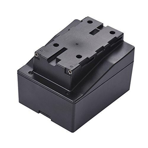 TPOTOO 8 stücke AA Batterie Pack Fall Halter Ersetzen F950 / F750 / F550 NP-F Serie für LED Video Licht Panel/Monitor/DSLR Kamera Serie Aa-batterie Pack