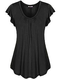 Y Camisas Largos Camisetas Verano es Amazon Vestido De Blusas w7FaaqC